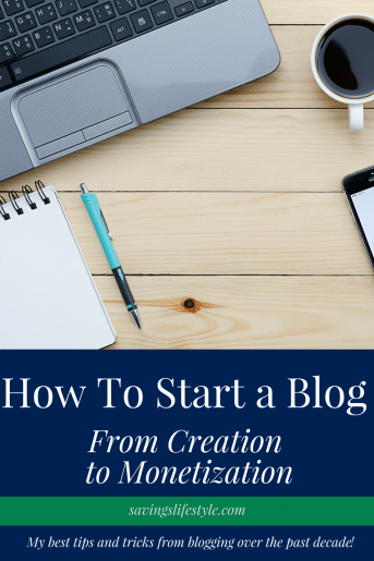 Tips and tricks to starting a blog today from my experience over the past decade as a 6-figure blogger!