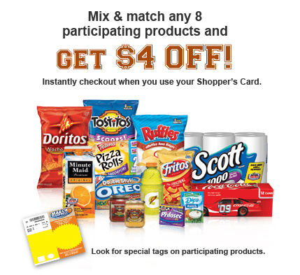 Kroger March to Savings Promotion