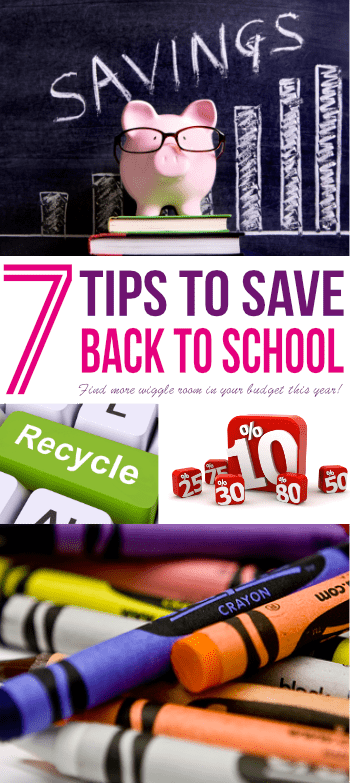 Learn the secret to how one mom purchased school supplies for just $5 with these Back to School shopping tips!