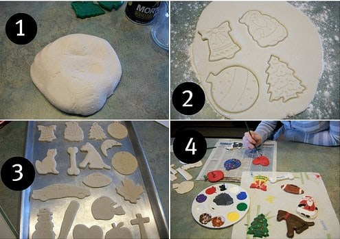 How to make homemade clay ornaments