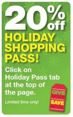 holidaypass CVS | 20% off Holiday Pass!