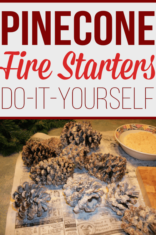 Start a fire with these homemade firelighters. Learn how to make firestarters with sawdust and a few other supplies you already have at home. These DIY firelighters also make for great home decor to be displayed throughout the winter season!