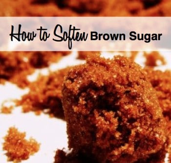 how to soften brown sugar