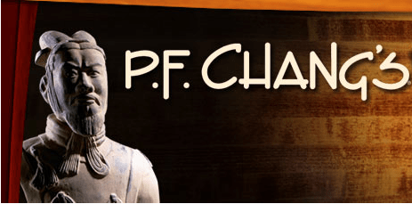 P.F. Chang's coupon