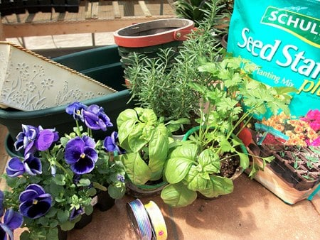make your own herb garden