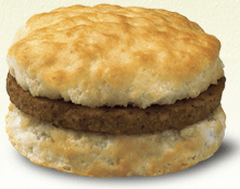 chickfila sausage biscuit