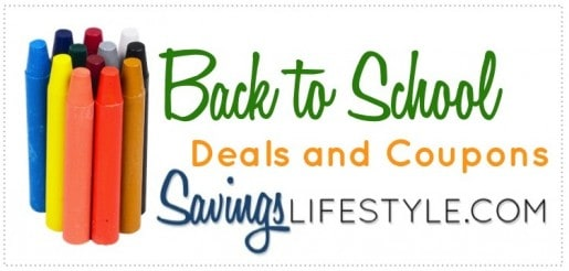 Back to School Coupons and Deals