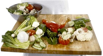 Chopping Veggies