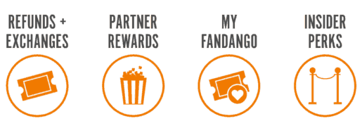 Fandango VIP Rewards Program Perks