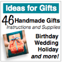 Ideas for Gifts: Handmade Gifts for DIY Giving