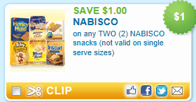Like Nabisco coupons? Try these...