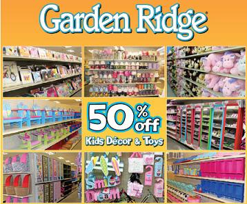 """Here is a coupon for 15% off your entire in-store purchase at Garden Ridge. This is a great chance to start your holiday crafting or prepping for hosting a holiday party. You must have a smartphone in order to use this offer. Once you click """"Get Offer"""" open the Google Offers app on your Apple or Android device. You will see the coupon saved there."""