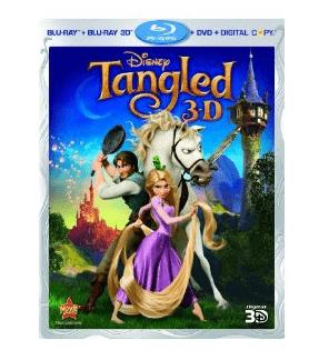 Tangled 3D Blu-ray