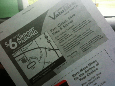 Search For Airport Parking Coupons