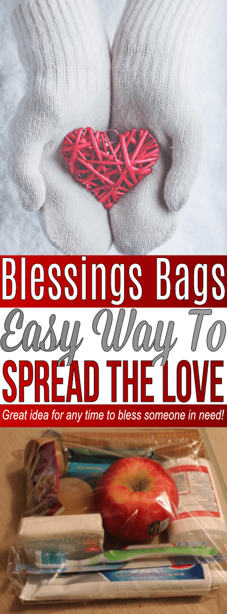 These Blessings Bags are a great idea to bless someone in need!