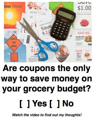 question coupons grocery savings