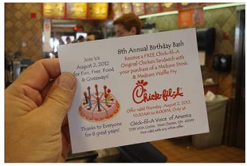 Have you just visited Chick-fil-A restaurant? And do you want to get a free Chick-fil-A chicken sandwich in your next visit? Well, it is easy!