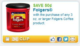 Folgers coffee coupons august 2018
