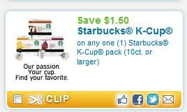 graphic about K Cup Coupons Printable referred to as Starbucks k cups coupon printable - Simplest suv rent promotions 2018