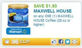 Maxwell House Coffee Coupons Print