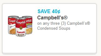 Campbell Condensed Soup Coupon