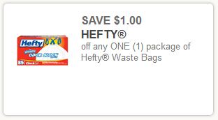 Hefty Trash Bag Coupon