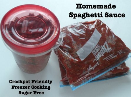 Homemade Crockpot Spaghetti Sauce Recipe