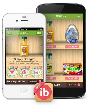 Ibotta Coupon Incentive App