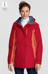 Lands End Womens Parka