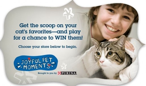 Purina Instant Win Game