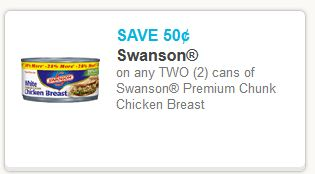 Swanson Chicken Coupon