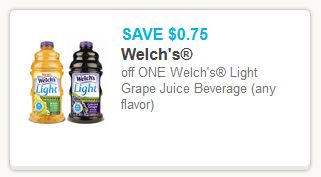 Welch's Juice Couon