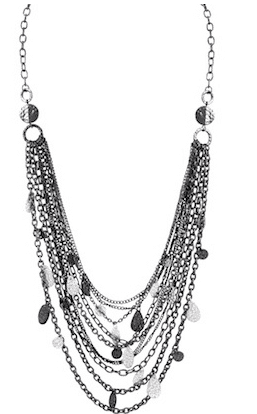 Black Multi-layer Necklace
