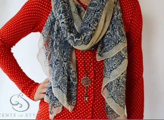 Cents of Style Scarf Necklace Deal