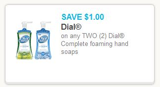 Dial Foaming Soap Coupon