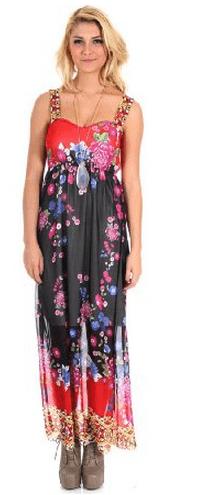 Floral Print Sun Dress