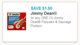 Jimmy Dean Pancake Coupon
