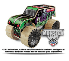 Monster Jam Grave Digger Truck