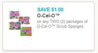 OCelO Sponge Coupon