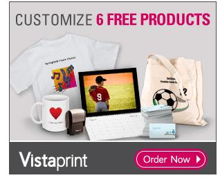 Vistaprint FREE Products