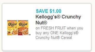 Crunchy Nut Coupon + Fruit