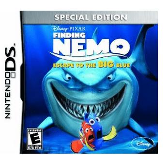 Finding Nemo Escape to the Big Blue