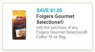Folgers Gourmet Coffee Coupon