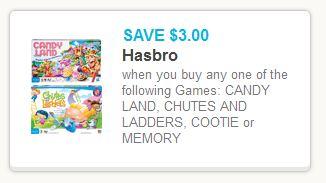 Hasbro Games Coupon
