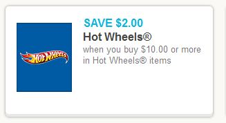 Hot Wheels 210 Coupon