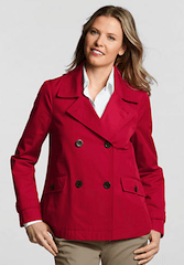 Lands End Womens Rain Jacket