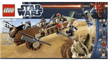 Lego Star Wars Desert Skiff Set