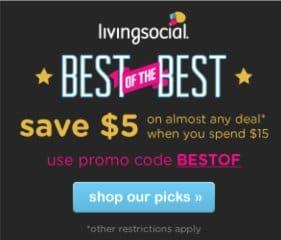 Living Social coupon code