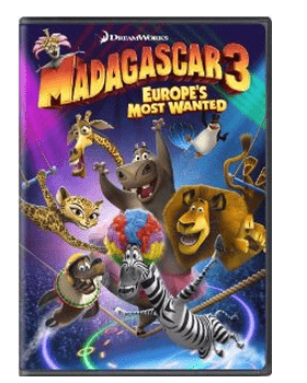 Madagascar 3 DVD