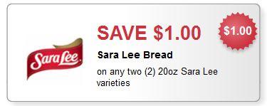 Sara Lee Bread Coupon